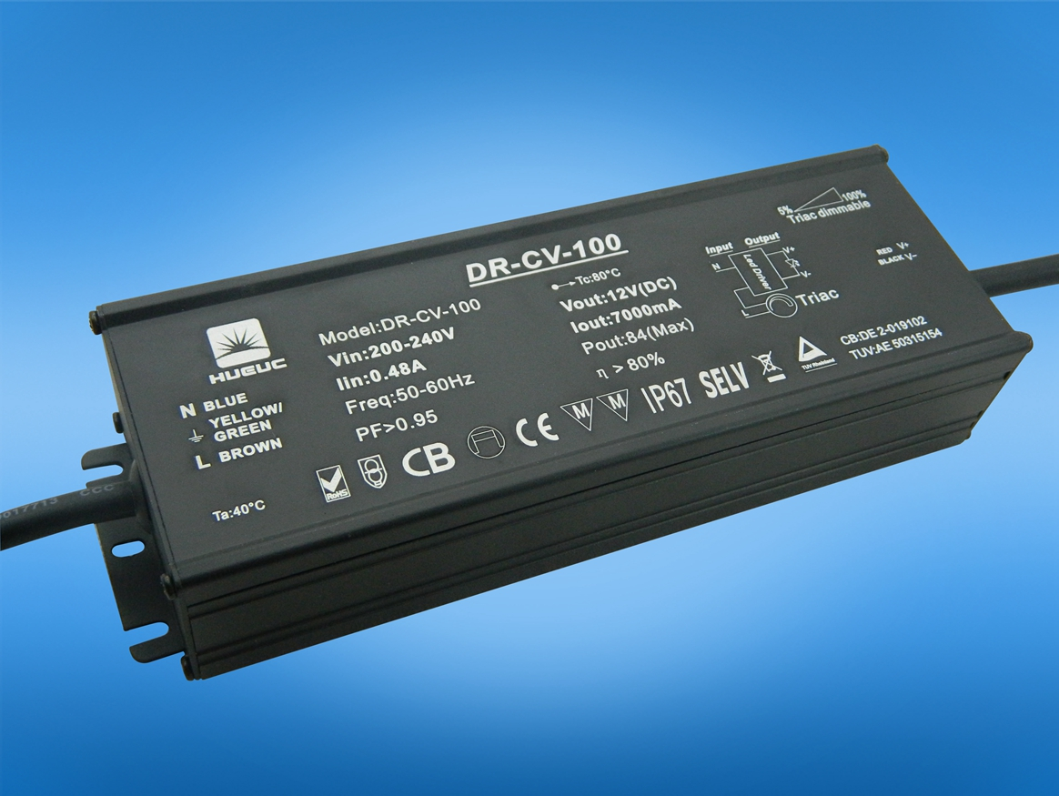 100w 0 1 10v Dimmable Led Driver Huarui Lighting Coltd 3w Mr16 Constant Current Ce Circuit Manufacturer From